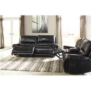 Signature Design by Ashley Paron - Antique Power Reclining Living Room Group