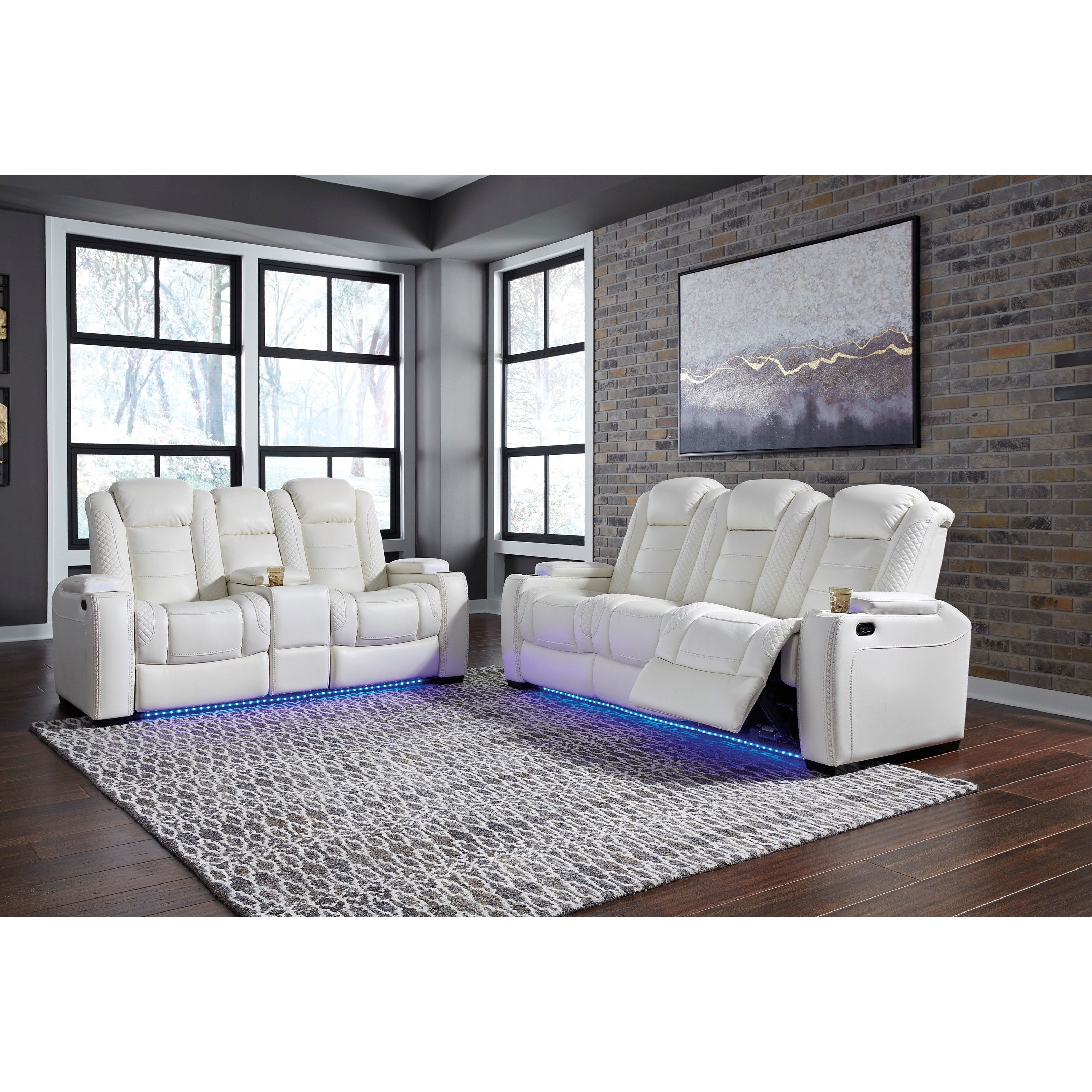 Party Time Power Reclining Living Room Group by Ashley (Signature Design) at Johnny Janosik