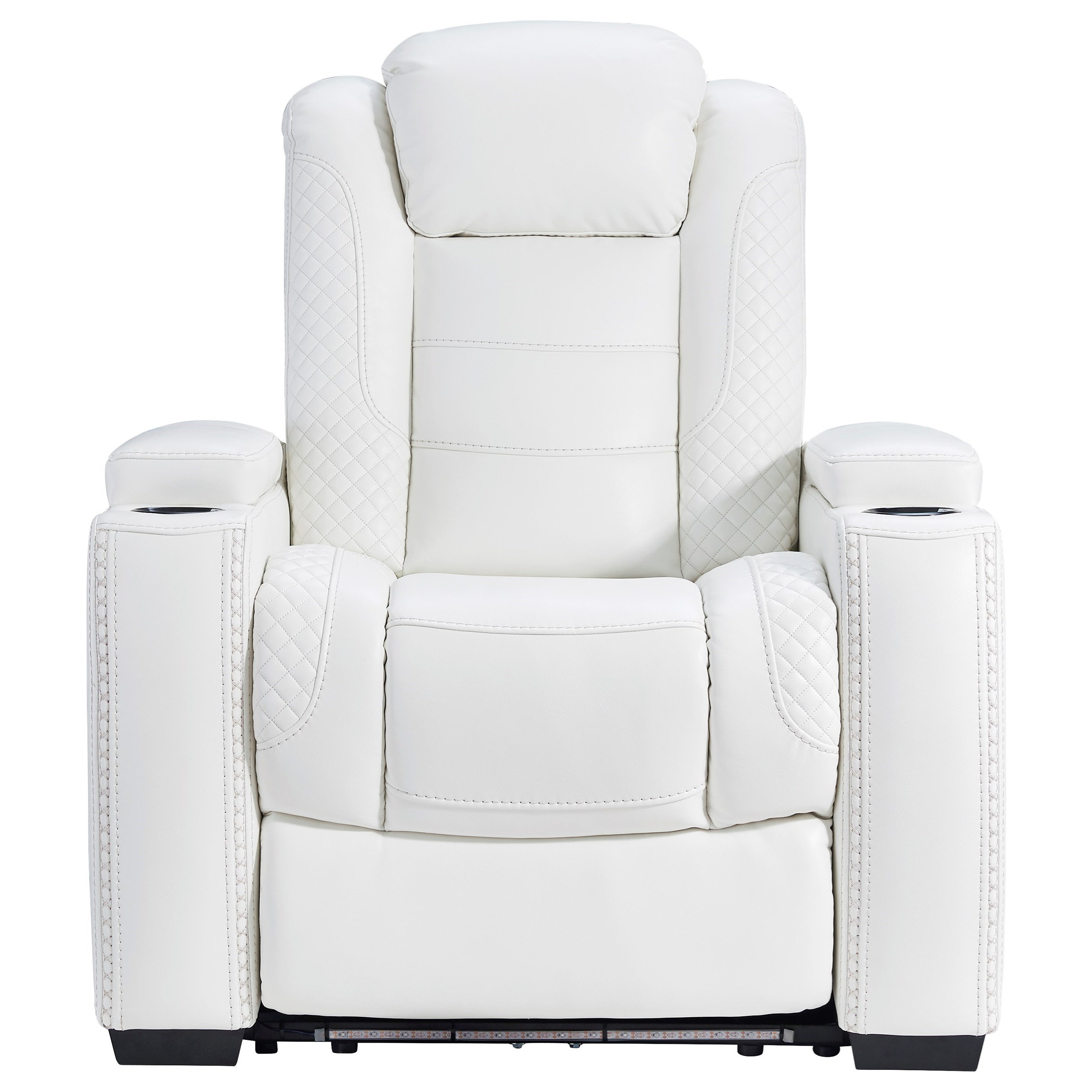 Party Time Power Recliner with Adjustable Headrest by Signature Design by Ashley at Furniture and ApplianceMart