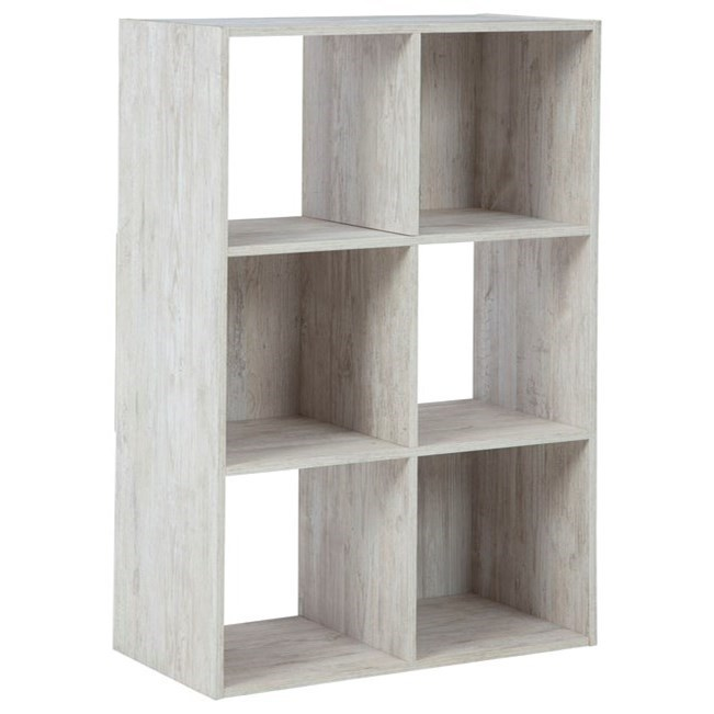 Paxberry Six Cube Organizer by Signature Design by Ashley at Lindy's Furniture Company