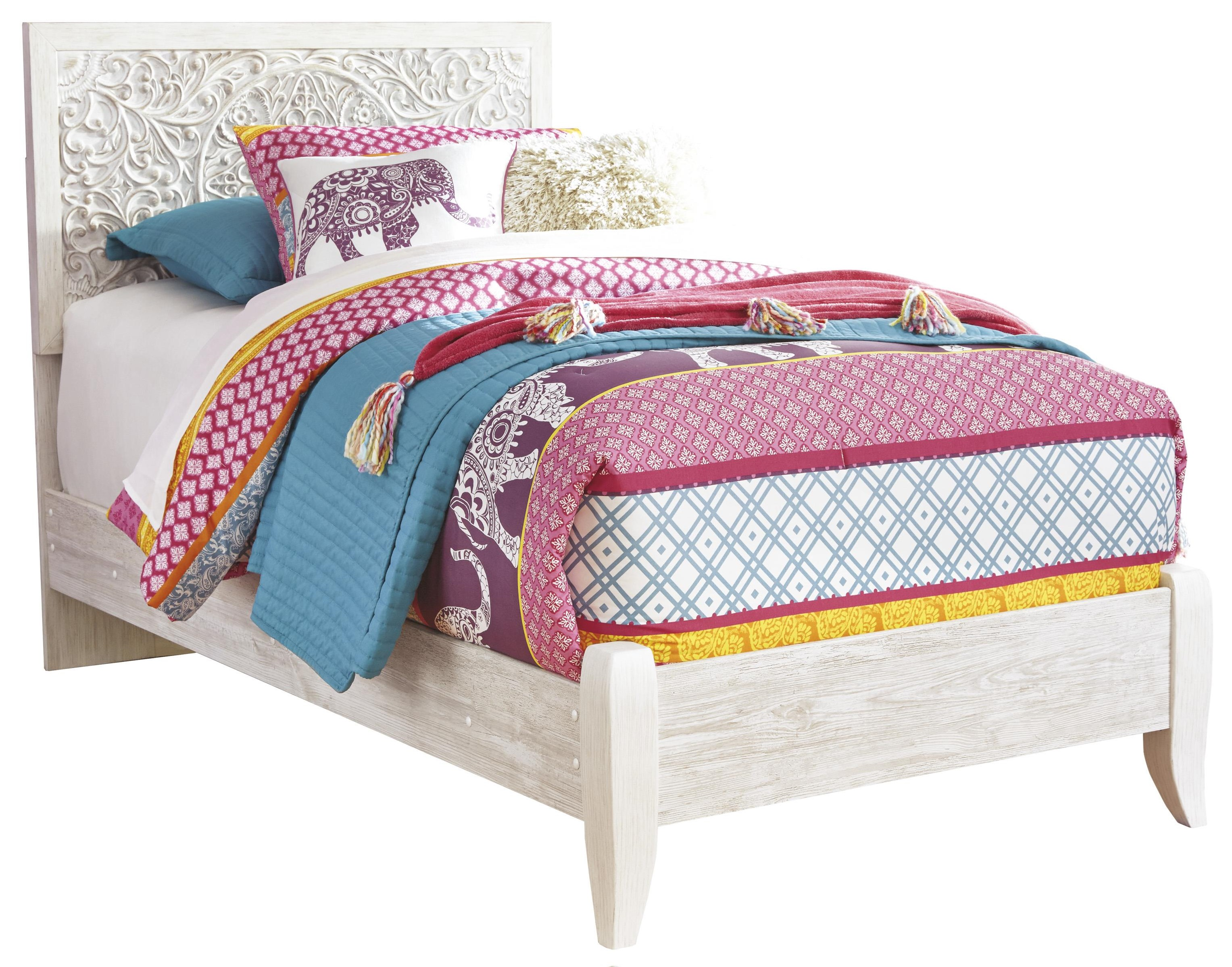 Paxberry Twin Panel Bed and Dresser Package by Signature Design by Ashley at Sam Levitz Furniture