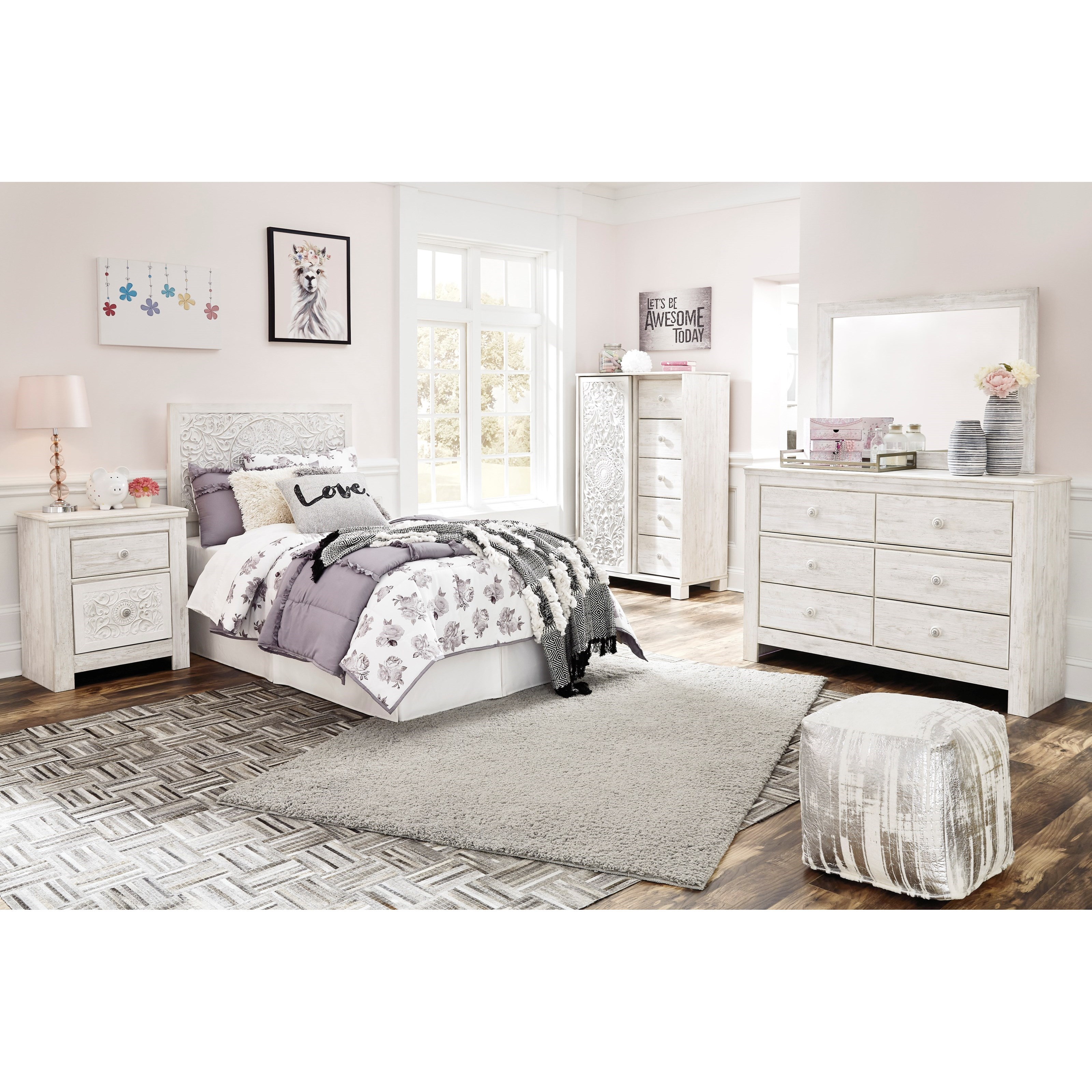 Paxberry Twin Bedroom Group by Ashley (Signature Design) at Johnny Janosik