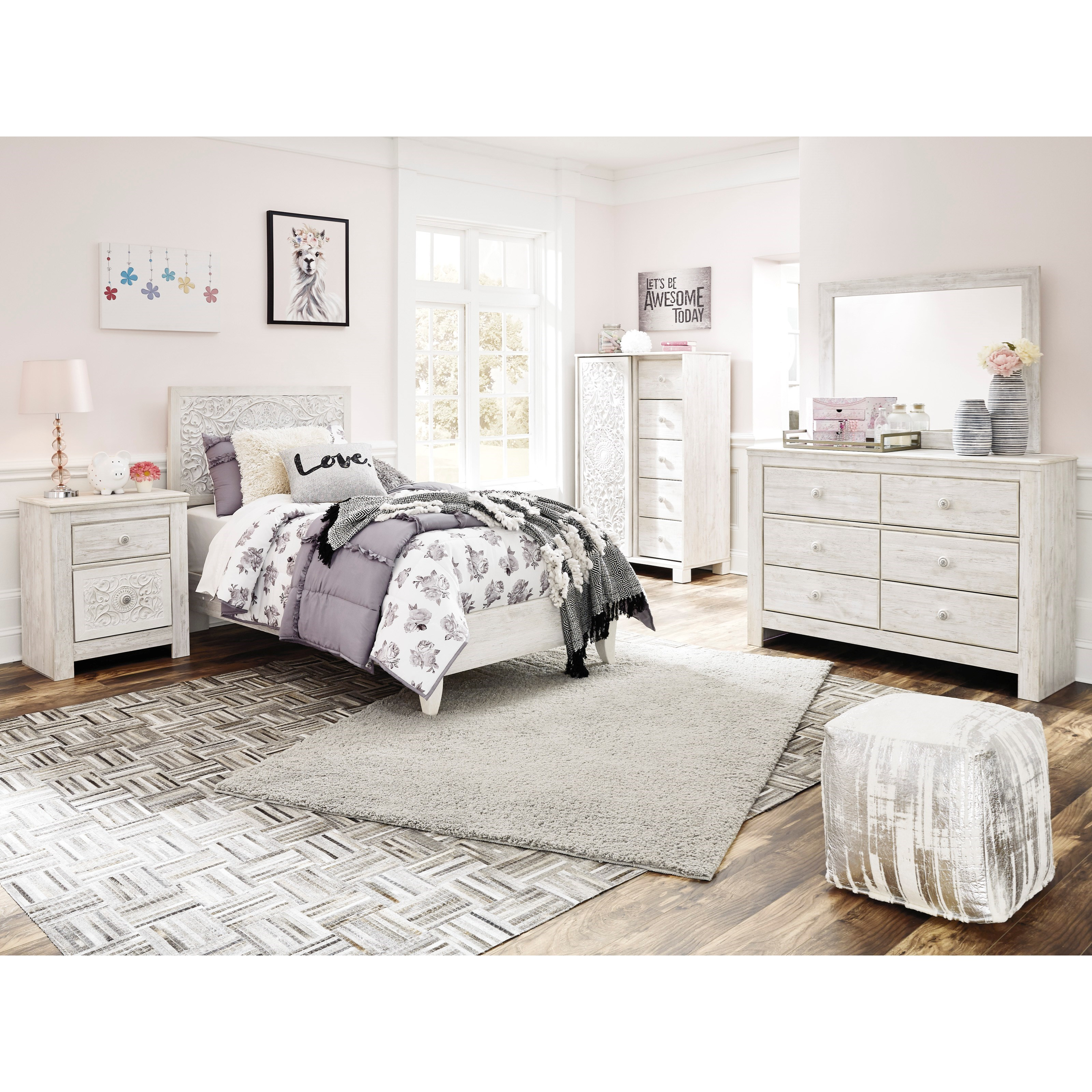 Paxberry Twin Bedroom Group by Ashley Signature Design at Rooms and Rest