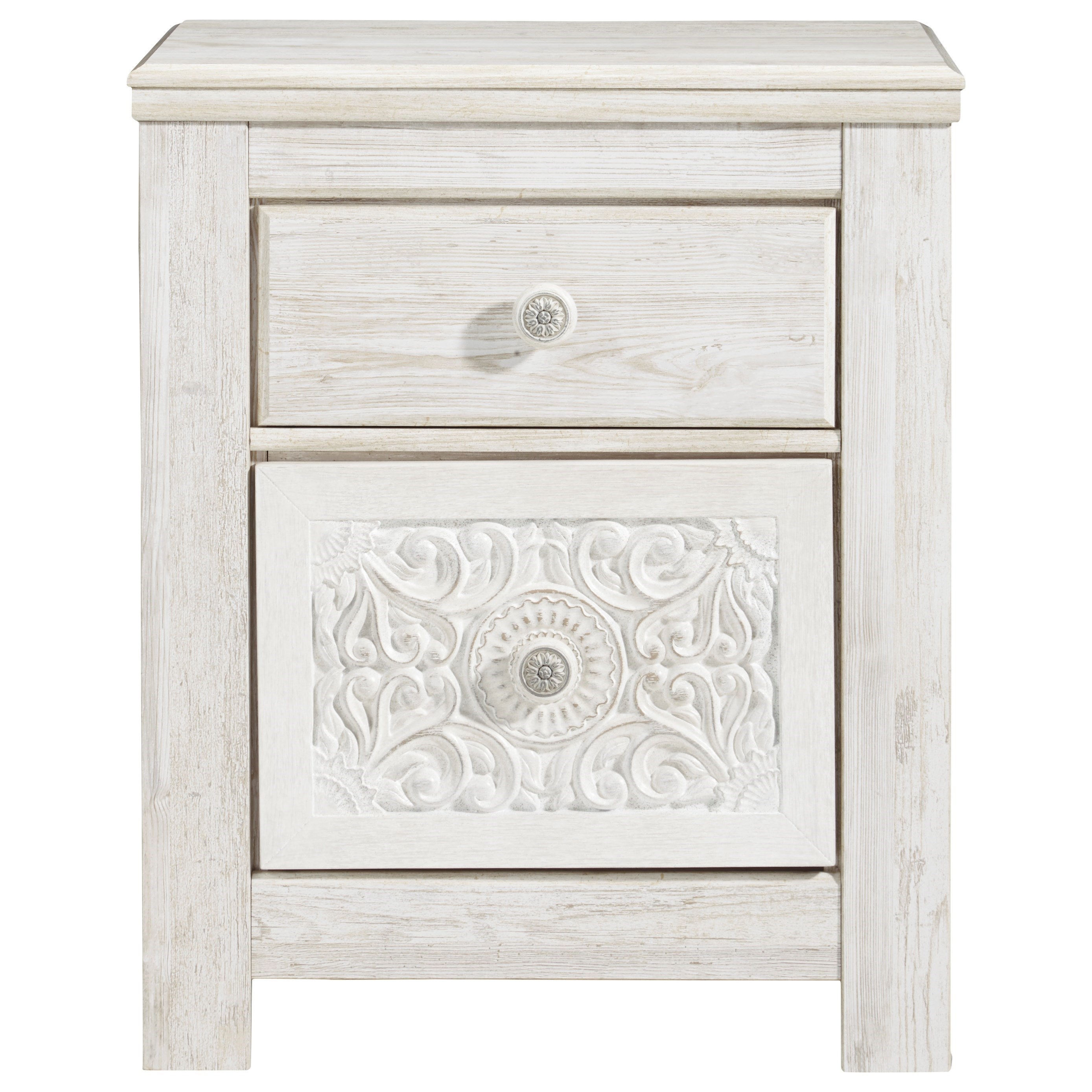 Paxberry Nightstand by Signature Design by Ashley at Beck's Furniture