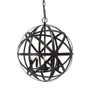 Signature Design by Ashley Pendant Lights Cade  Bronze Finish Metal Pendant Light