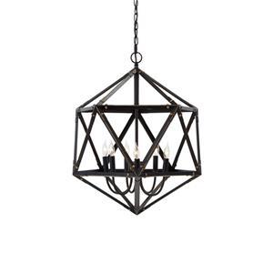 Signature Design by Ashley Pendant Lights Fadri Bronze Finish Metal Pendant Light