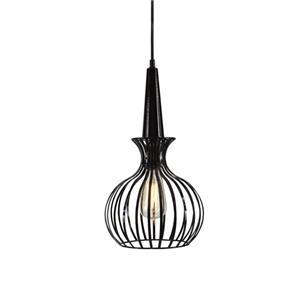 Signature Design by Ashley Pendant Lights Ichiro Black Metal Pendant Lamp