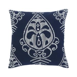 Signature Design by Ashley Pillows Embroidered - Navy Pillow Cover