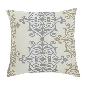 Signature Design by Ashley Pillows Scroll - Gray/Brown Pillow Cover