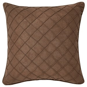 Signature Design by Ashley Pillows Damia - Brown Pillow