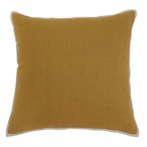 Signature Design by Ashley Pillows Solid - Mustard Pillow Cover
