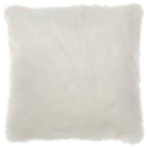 Signature Design by Ashley Pillows Himena White Pillow