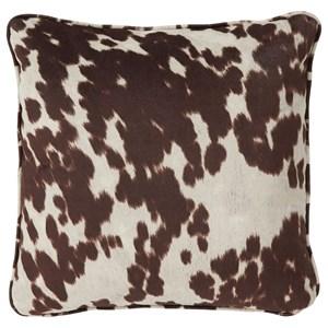 Signature Design by Ashley Pillows Dagan Brown/White Pillow
