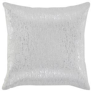 Tacey Off White/Silver Pillow