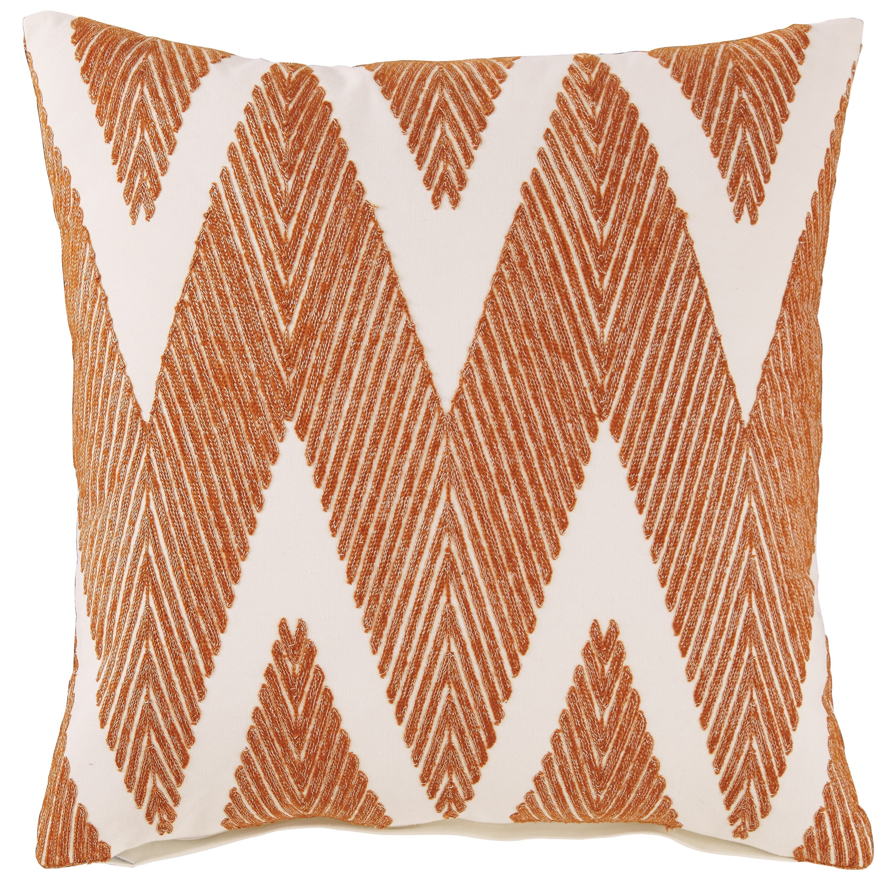 Pillows Carlina Orange Pillow by Signature Design by Ashley at Rife's Home Furniture