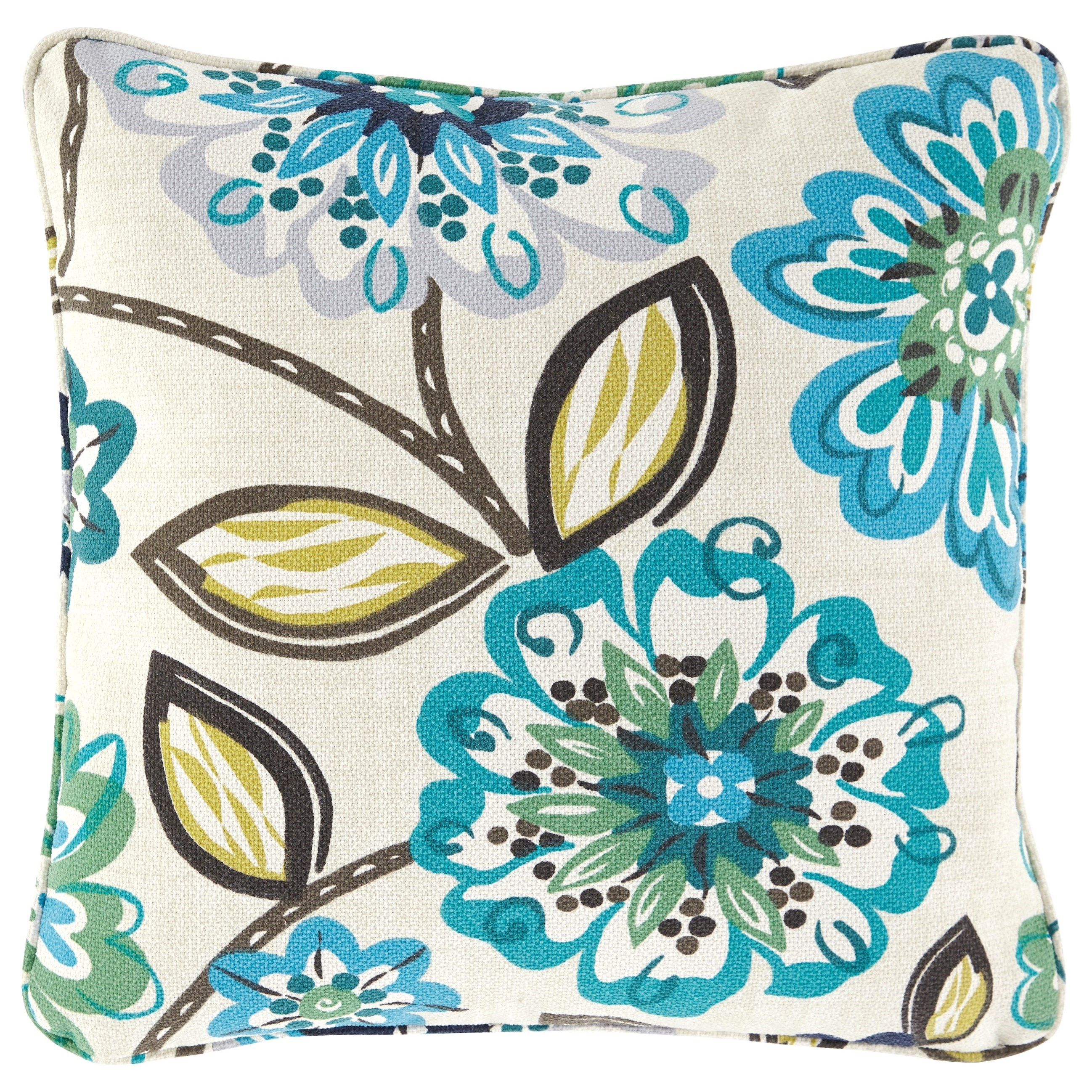 Pillows Mireya Multicolor Pillow by Ashley (Signature Design) at Johnny Janosik