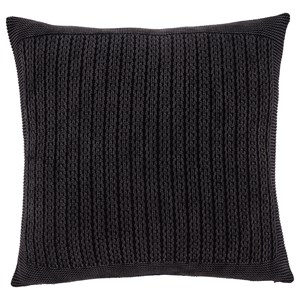 Signature Design by Ashley Pillows Wilsonburg Charcoal Pillow Cover