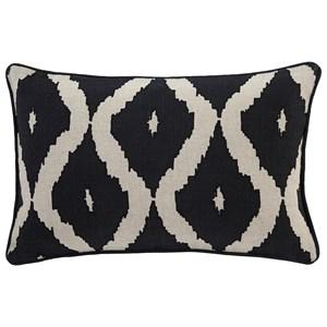 Signature Design by Ashley Pillows Tildy - Black/Natural Lumbar Pillow
