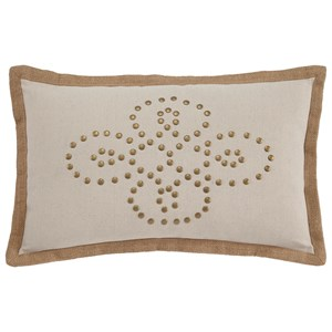 Signature Design by Ashley Pillows Castine - Quartz Lumbar Pillow
