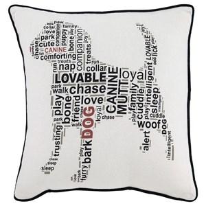 Signature Design by Ashley Pillows Beals White/Black Pillow