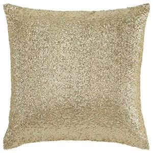 Signature Design by Ashley Pillows Renegade Gold Pillow
