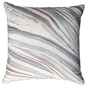 Miquel Gray/Cream Pillow
