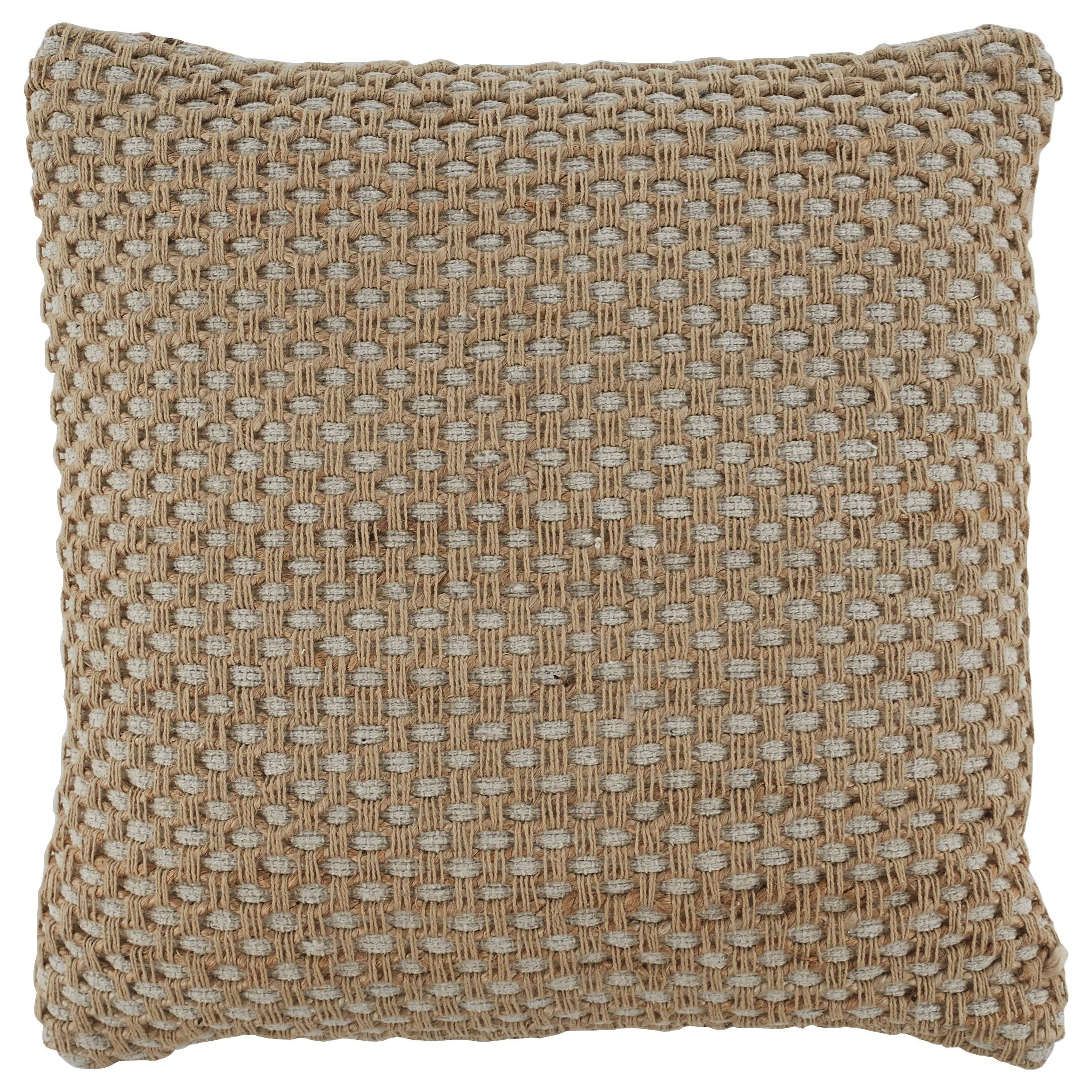 Pillows Matilde Natural Pillow by Signature Design by Ashley at Zak's Warehouse Clearance Center