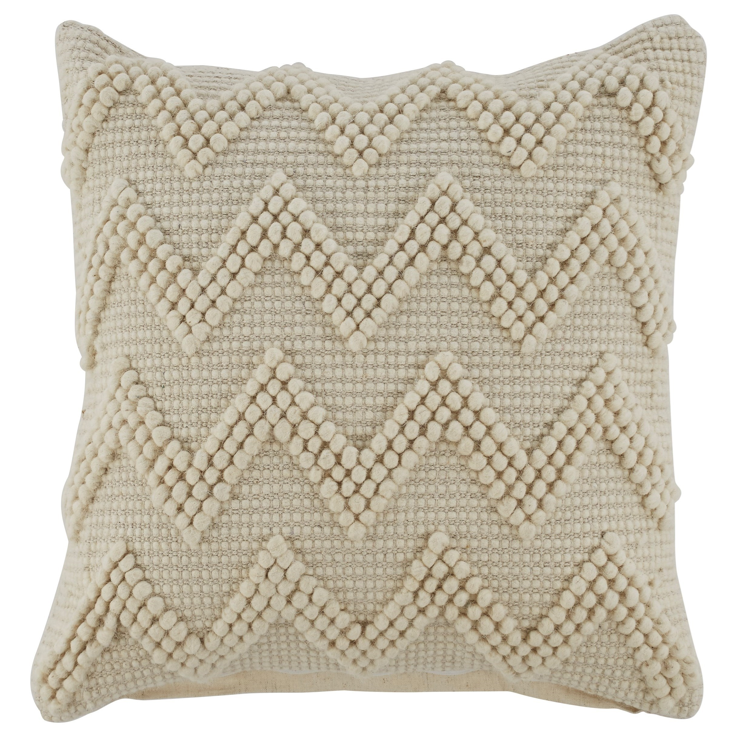 Pillows Amie Cream Pillow by Signature Design by Ashley at Northeast Factory Direct