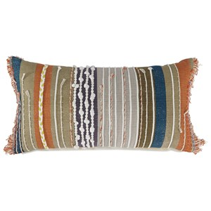 Dereon Multicolor Boho Pillow