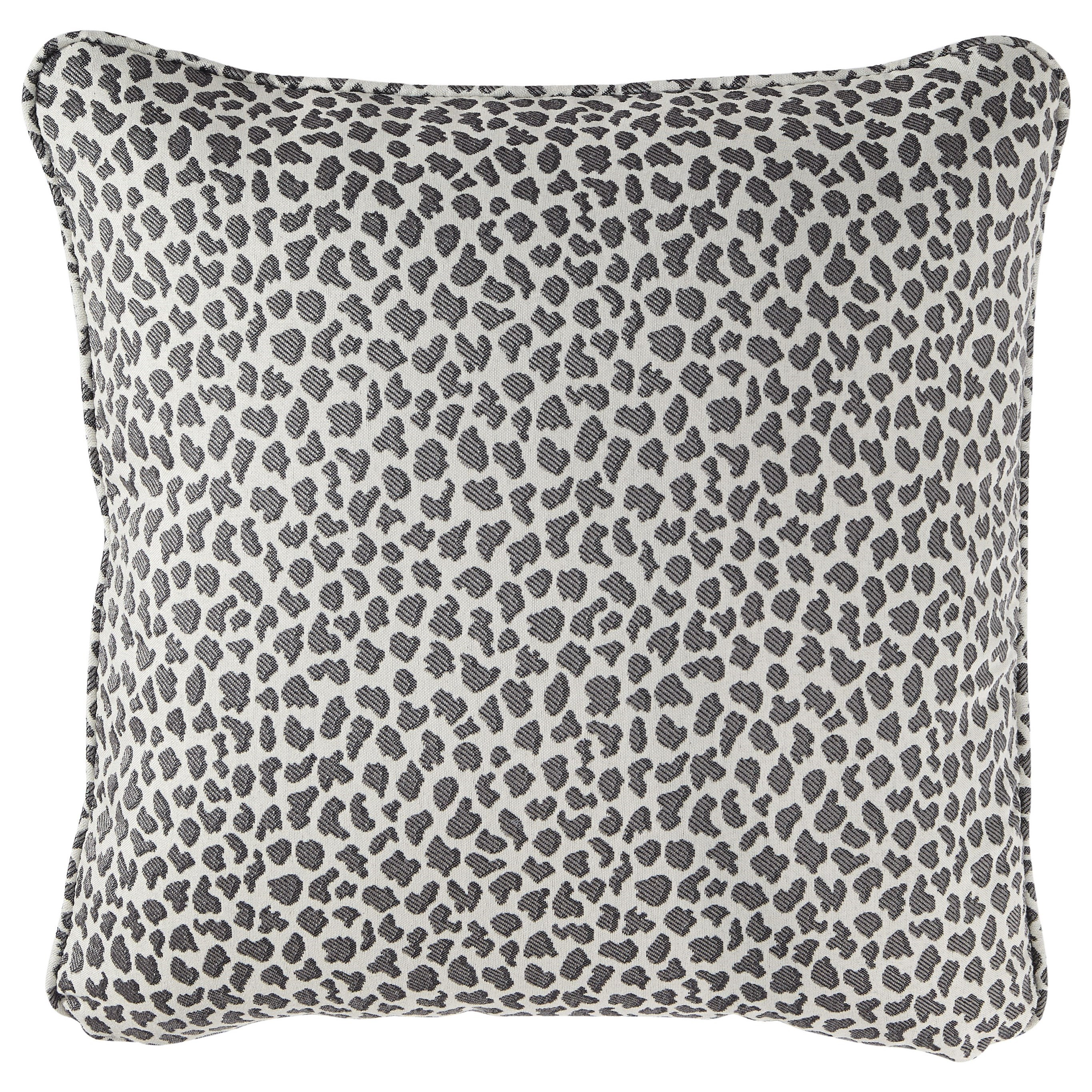 Pillows Piercy Gray Pillow by Signature Design by Ashley at Zak's Warehouse Clearance Center