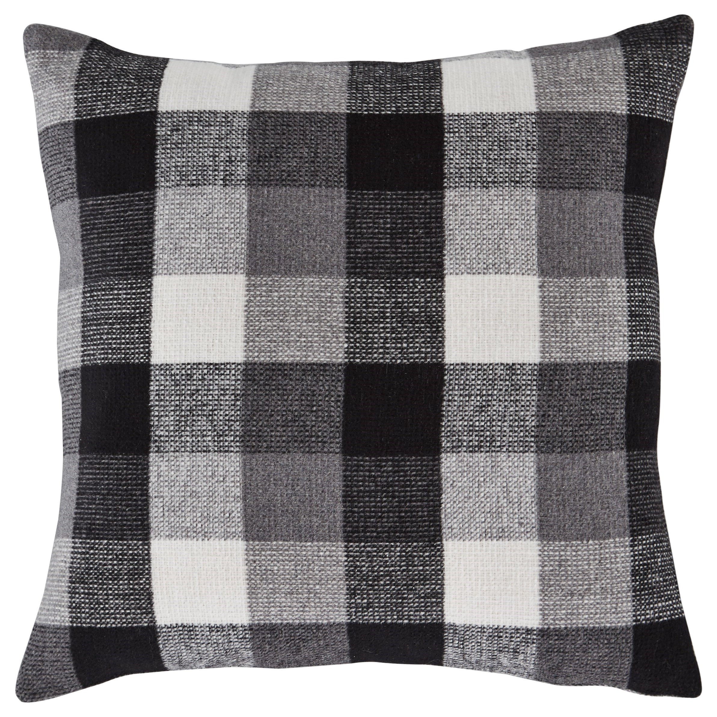 Pillows Carrigan Charcoal/White Pillow by Vendor 3 at Becker Furniture