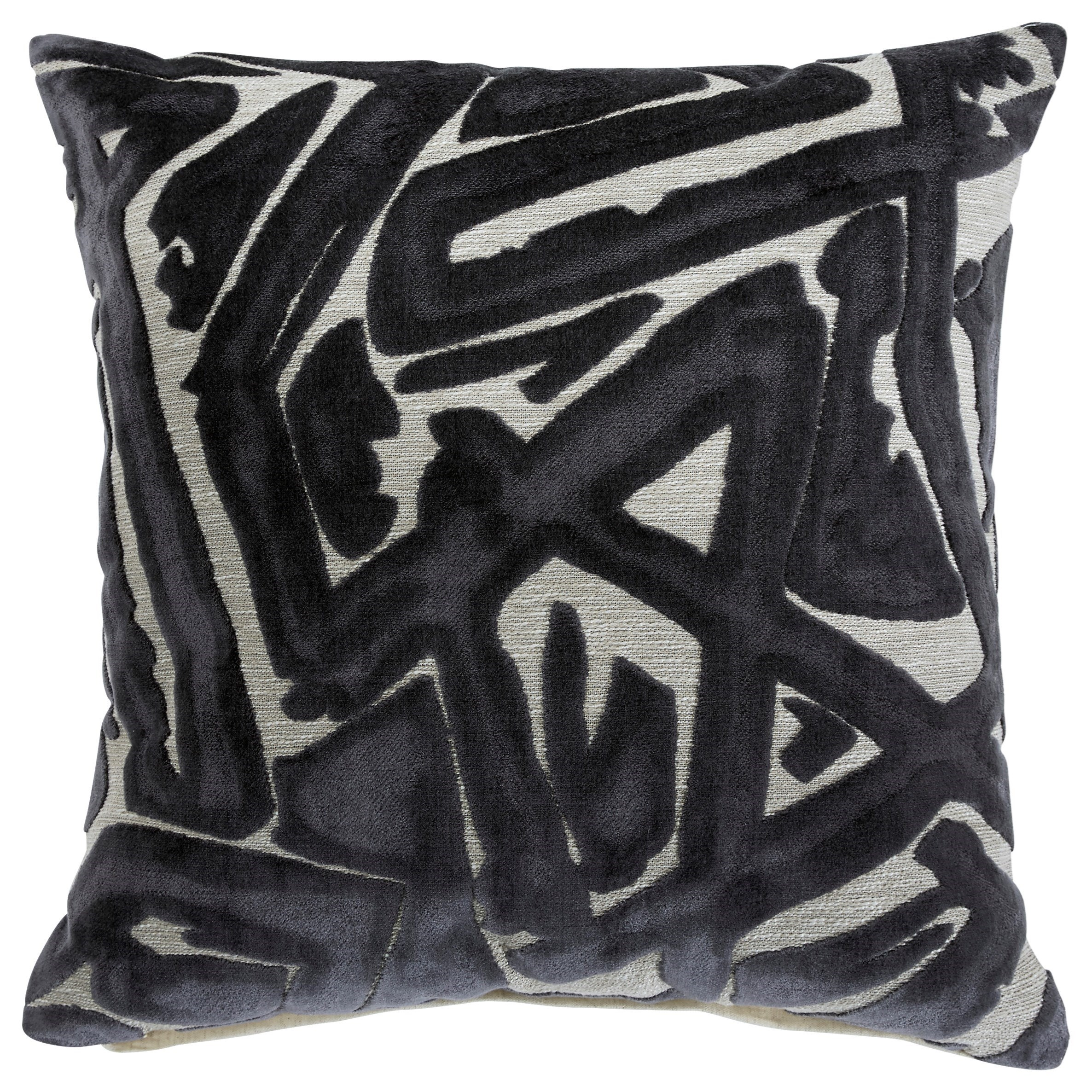 Pillows Kaslow Gray Pillow by Signature Design by Ashley at Dream Home Interiors