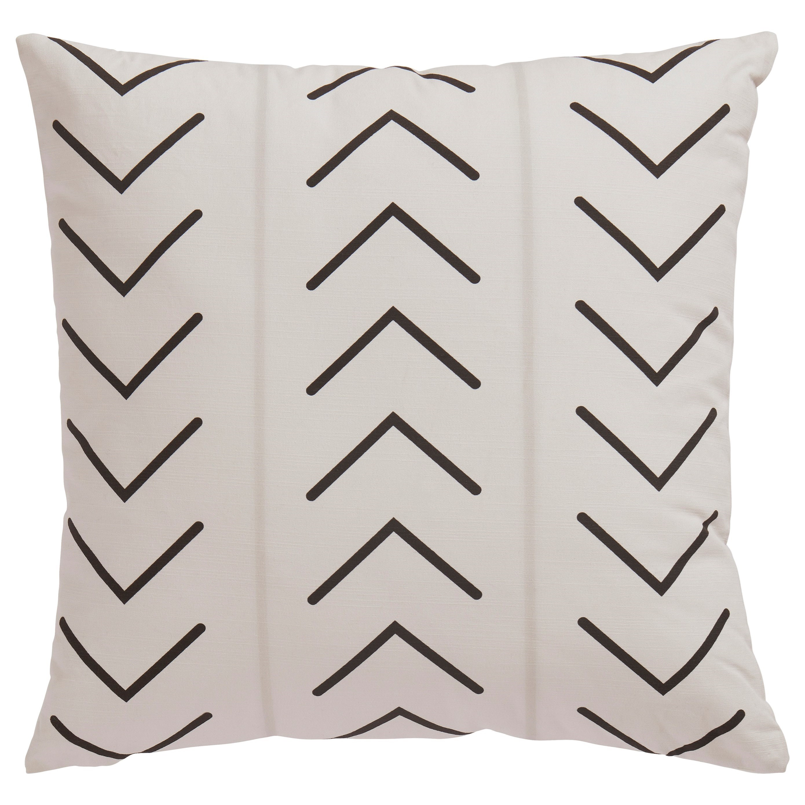 Pillows Kallan White/Black Pillow by Signature Design by Ashley at Furniture Barn