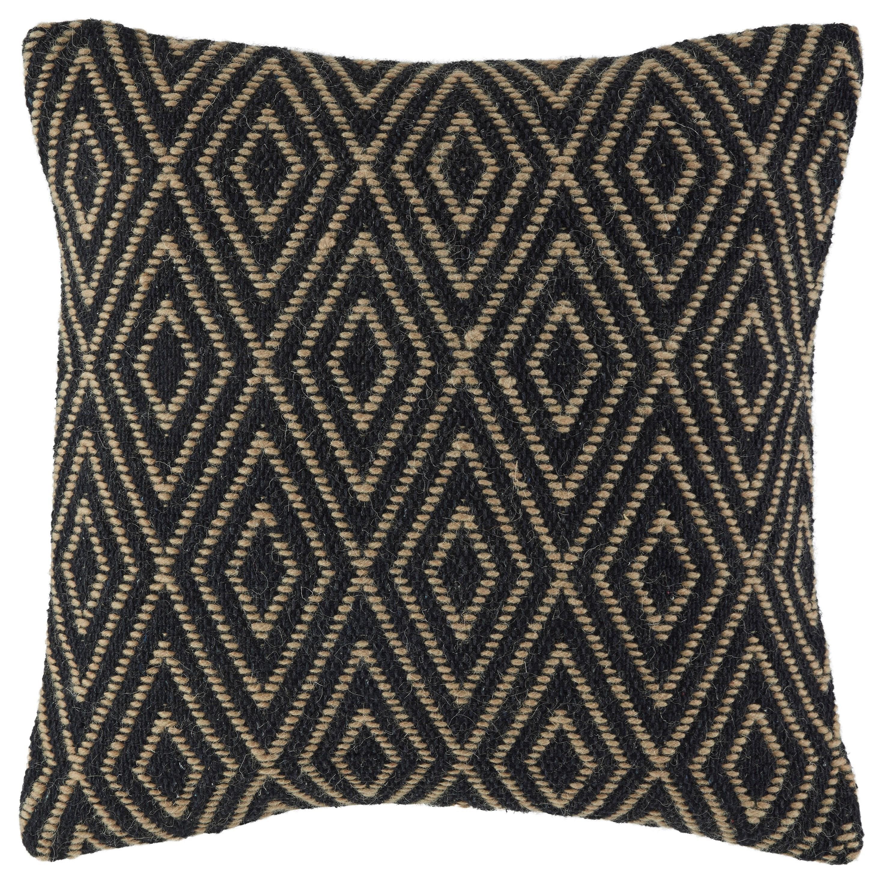 Pillows Mitt Black/Tan Pillow by Vendor 3 at Becker Furniture