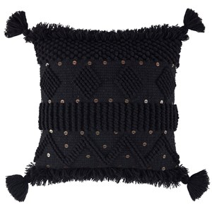 Mordechai Black Pillow