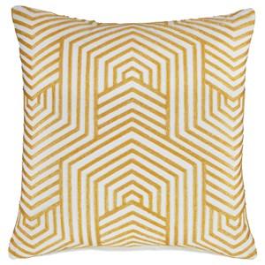 Adrik Golden Yellow Pillow