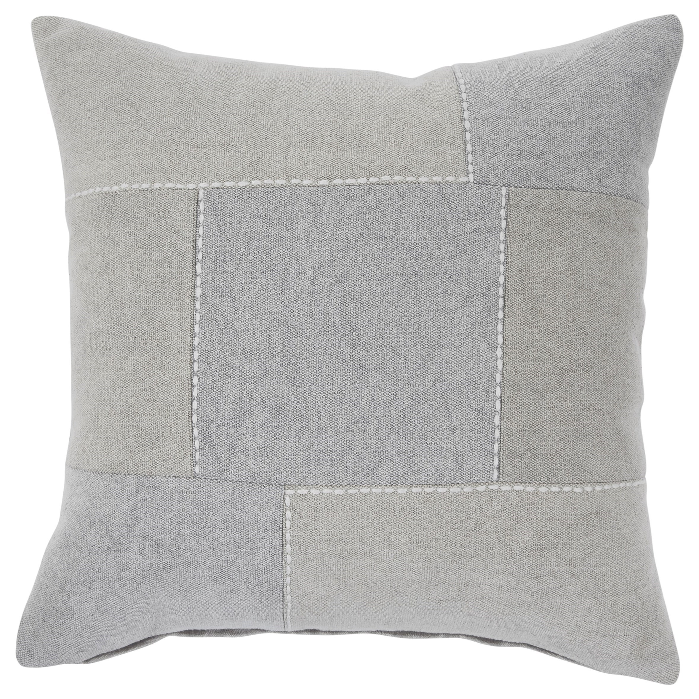 Pillows Lareina Gray/Tan Pillow by Signature Design by Ashley at Dream Home Interiors