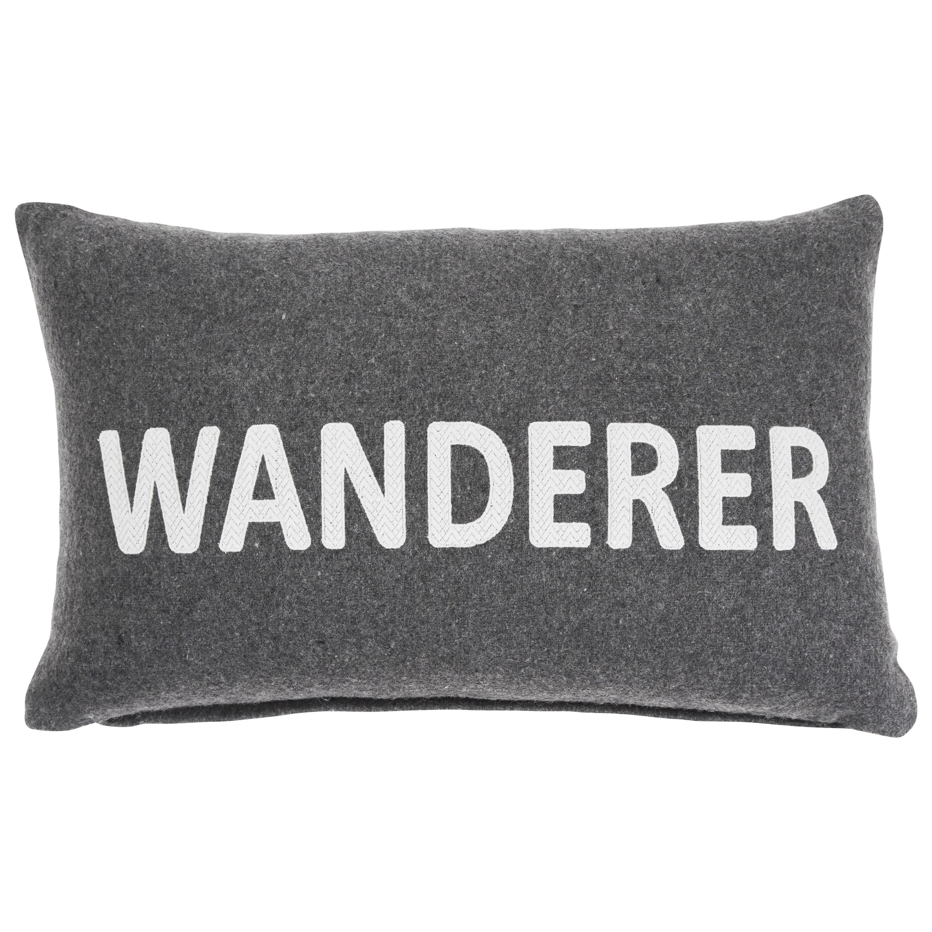 Pillows Wanderer Charcoal Pillow by Signature Design by Ashley at Miller Waldrop Furniture and Decor