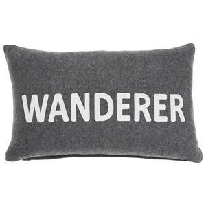 Wanderer Charcoal Pillow