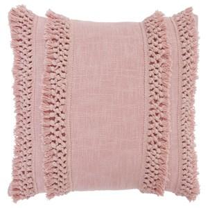 Janah Blush Pink Pillow