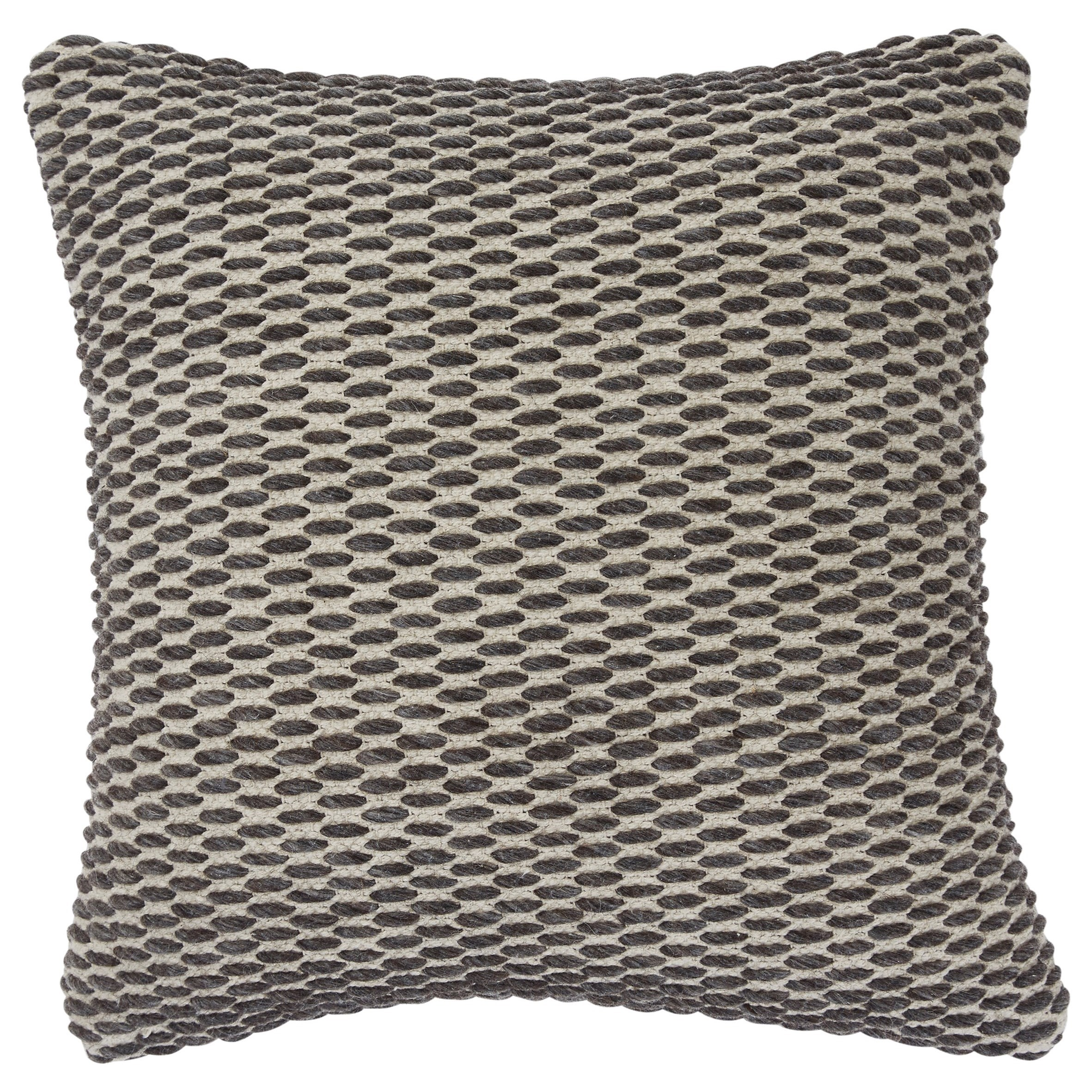 Pillows Bertin Gray/Natural Pillow by Signature Design by Ashley at Household Furniture