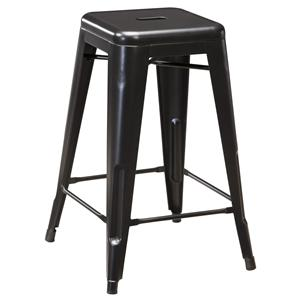 Retro Contemporary Metal Stool