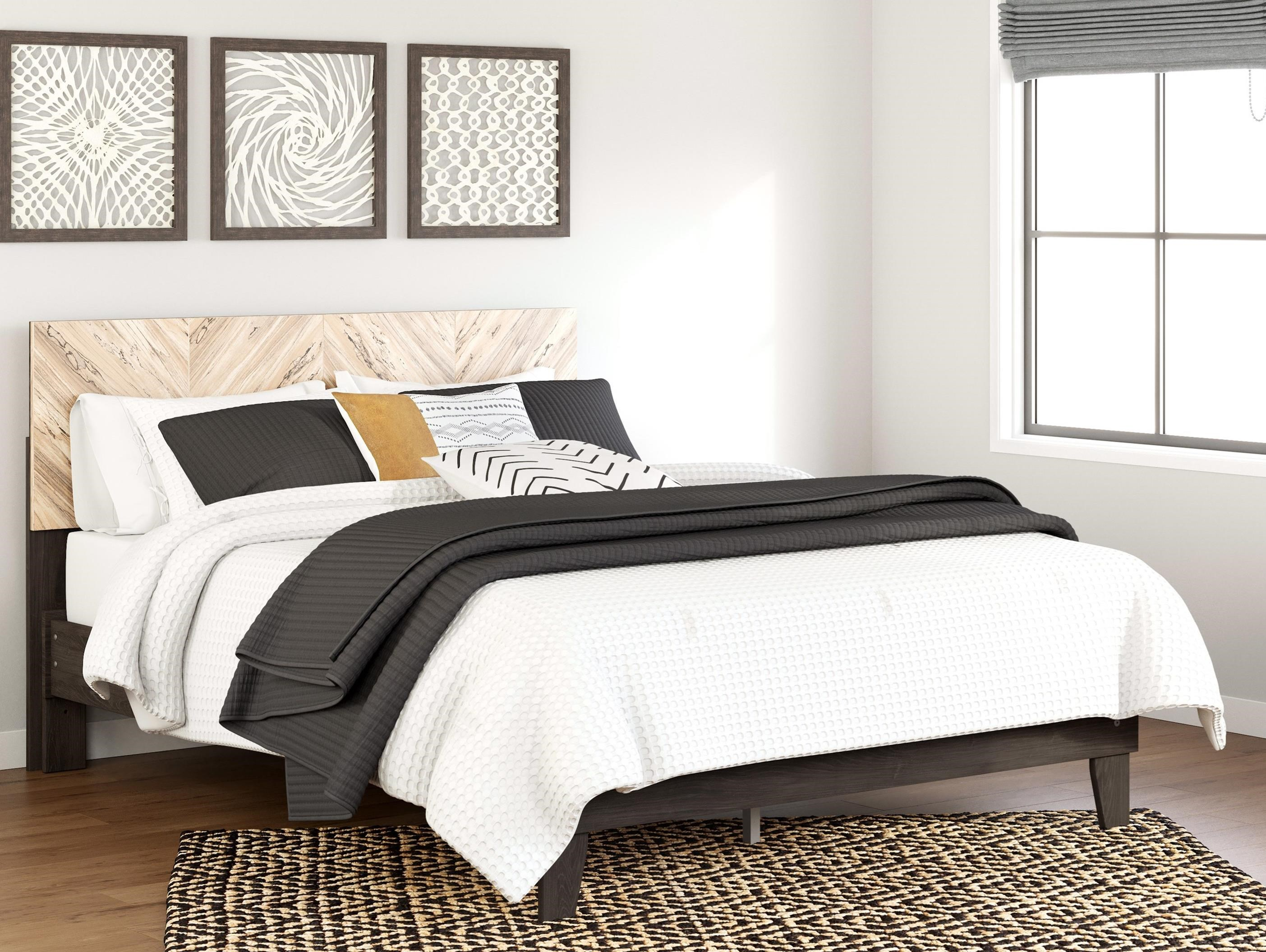 Piperton Queen Panel Platform Bed by Signature Design by Ashley at Furniture Barn