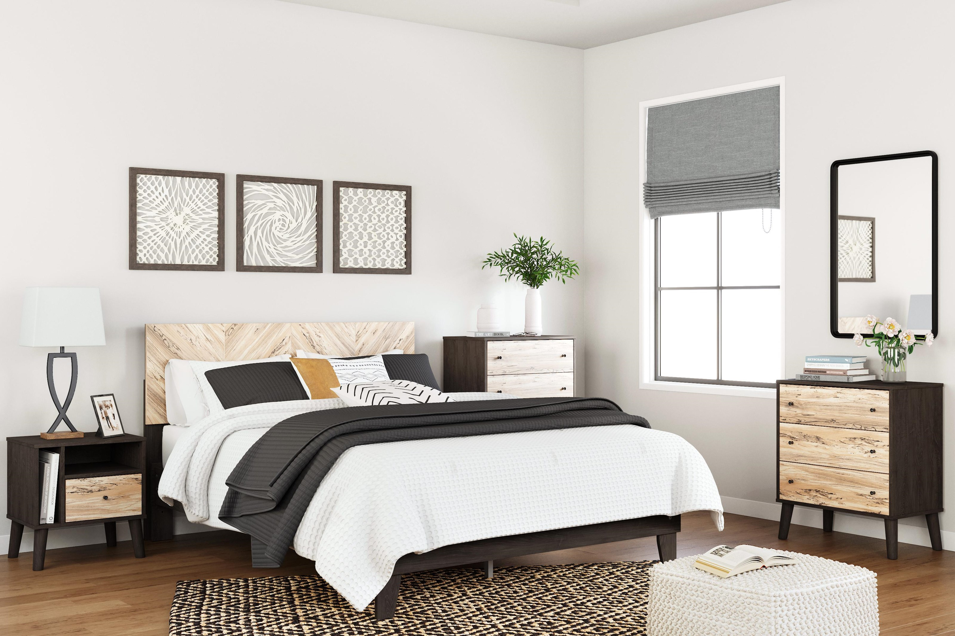 Piperton 3 Piece Queen Bedroom Set by Signature Design by Ashley at Sam Levitz Outlet