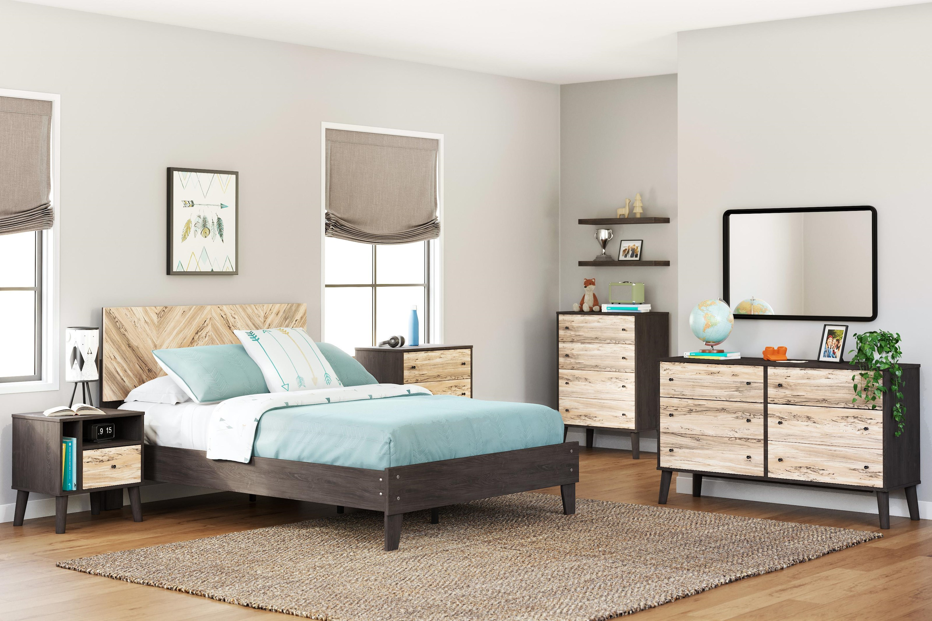 Piperton 3 Piece Full Bedroom Set by Signature Design by Ashley at Sam Levitz Outlet