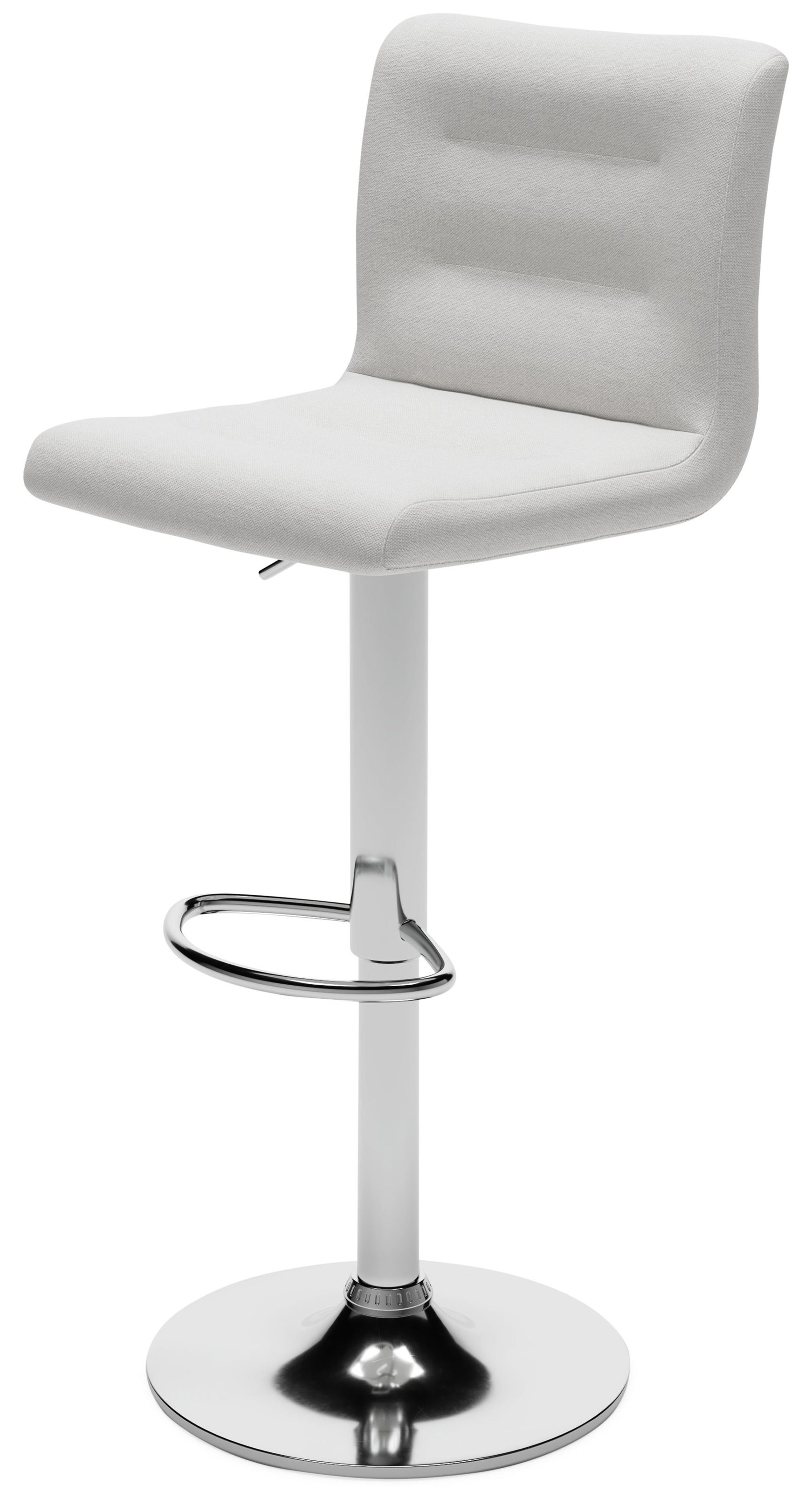 Pollzen Adjustable Height Upholstered Swivel Bar Sto by Signature Design by Ashley at Sam Levitz Furniture