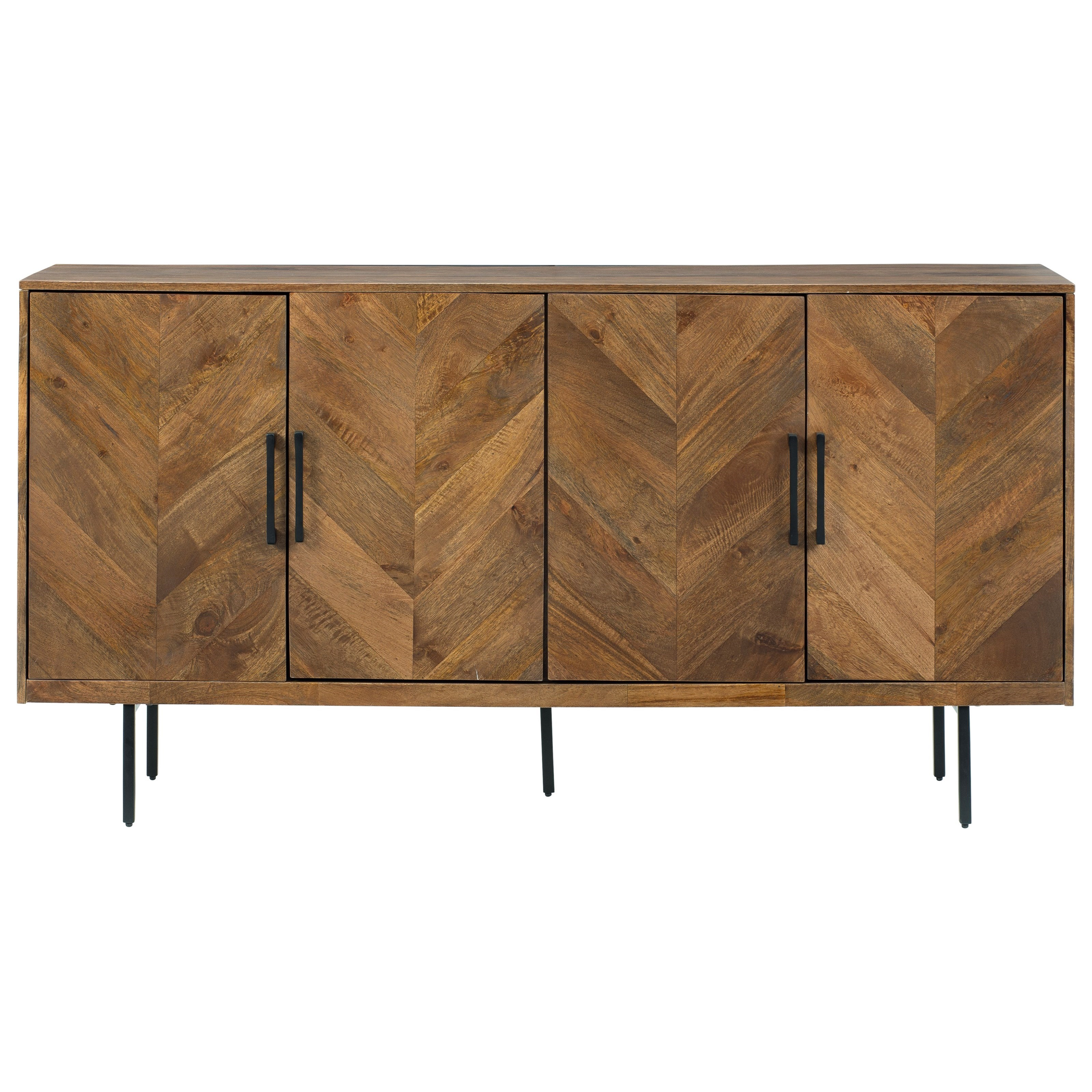 Prattville Accent Cabinet by Signature Design by Ashley at Zak's Warehouse Clearance Center