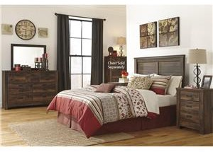 Quinden Queen 6-Piece Bedroom Group