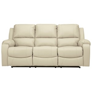Reclining Sofa with Bustle Back