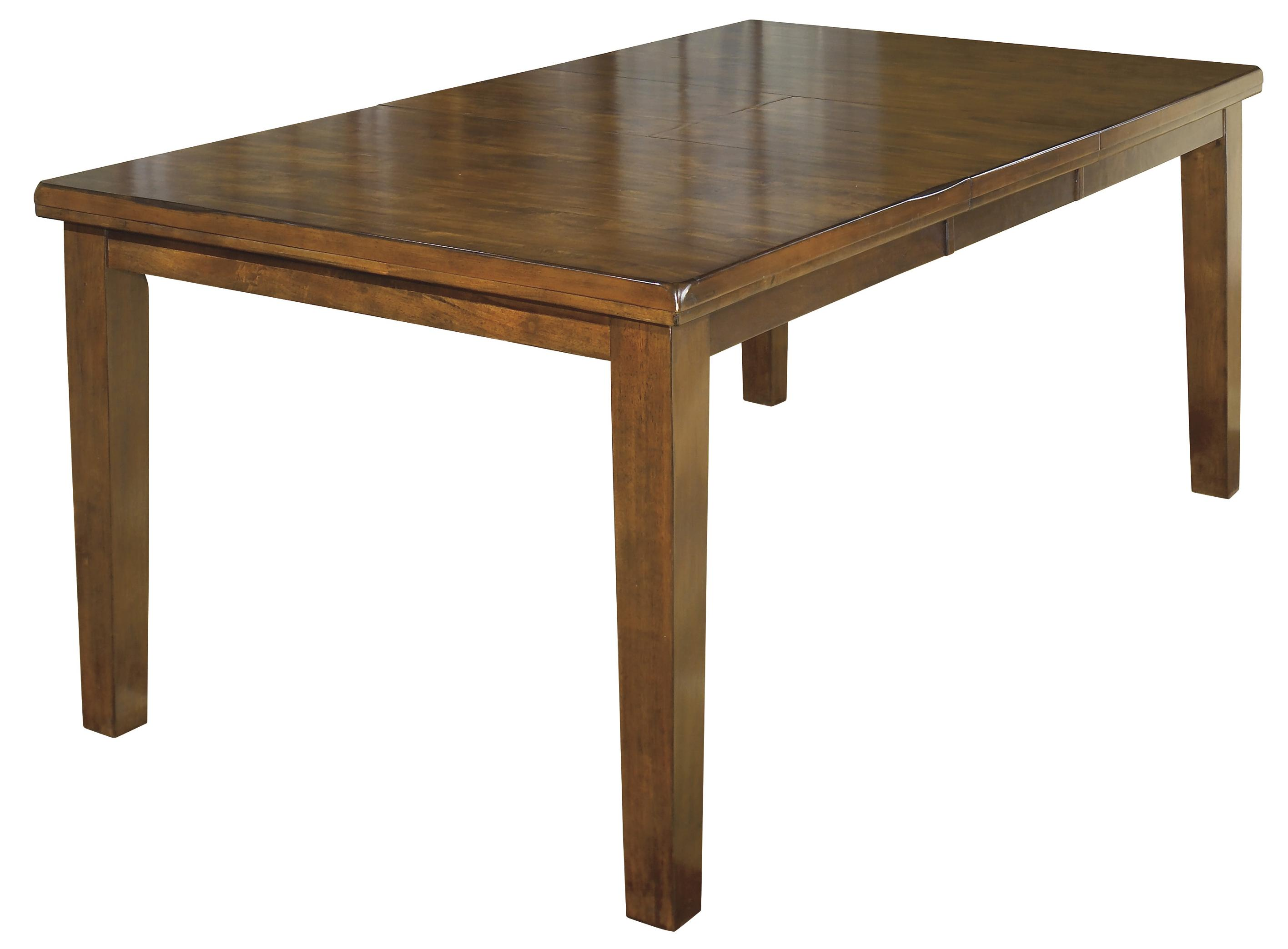 Ralene Rectangular Butterfly Leaf Dining Table by Signature Design by Ashley at Beck's Furniture